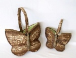 Butterfly basket,Birch bark